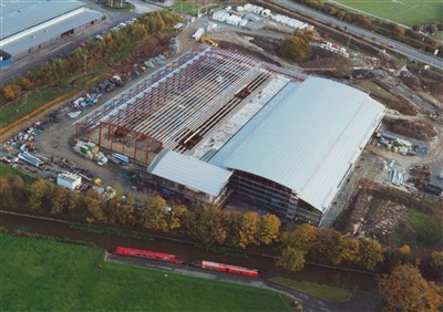 Aluminium Casting Factory, Welshpool