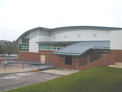 Sports hall Caerleon College, Newport