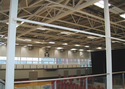 Sports hall Caerleon College, Newport (2)